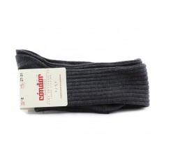 Calcetín alto color gris de canale Cóndor