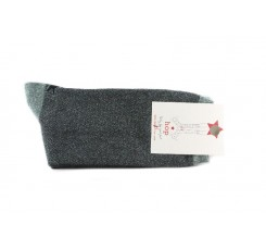 Calcetin corto verde punto de arroz Hop Socks