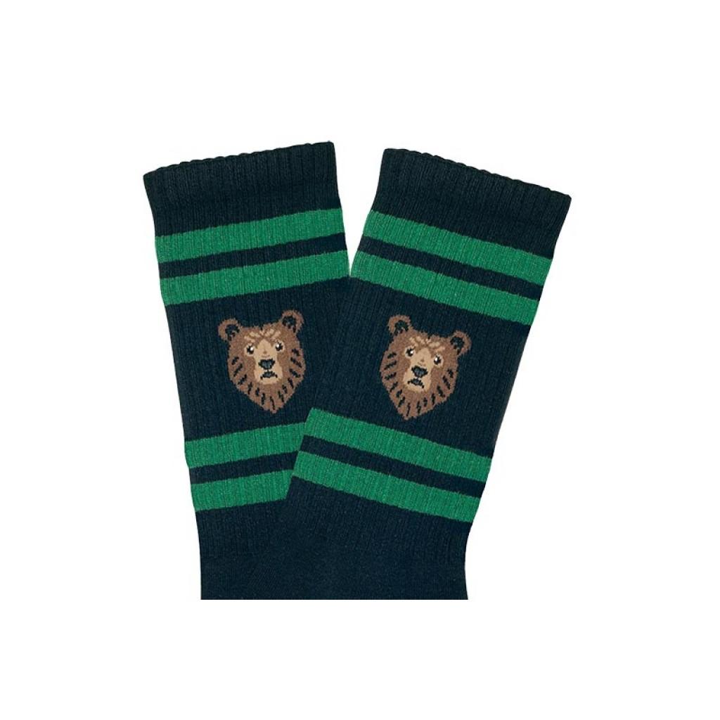 Calcetin azul media caña Jimmy Lion Bear