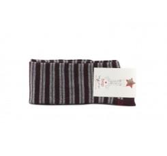 Calcetin alto gris con rayas Hop Socks