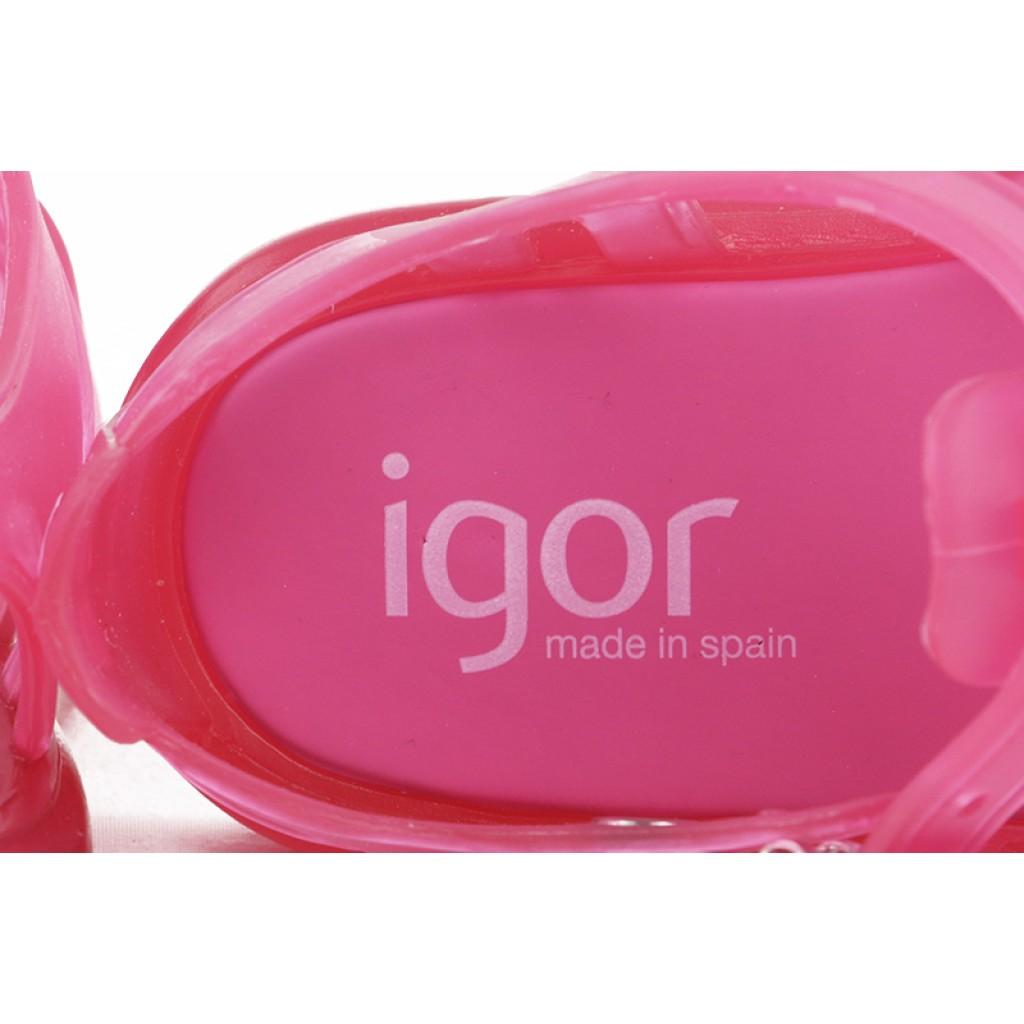 Cangrejera clasica rosa con hebilla Igor