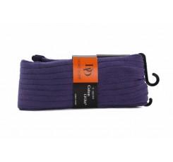 Leotardo violeta de canalé Doré Doré