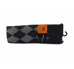 Leotardo gris y negro de rombos Doré Doré