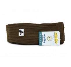 Leotardo marrón claro de canalé Cóndor