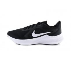 Deportiva negra y blanca con cordón Downshifter 10 Nike