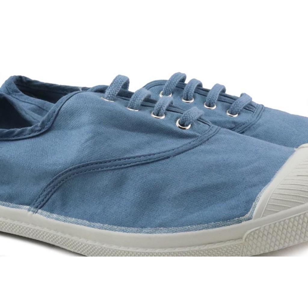 Lona azul jeans cordón Bensimon