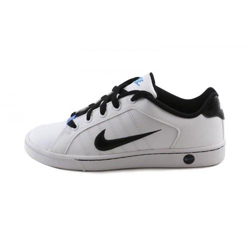 Deportiva blanca y negra con cordón Nike