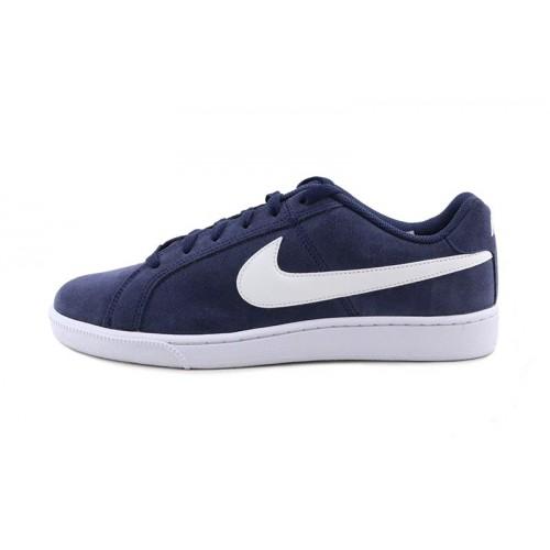 Deportiva ante azul con simbolo blanco con cordón NikeCourtroyale