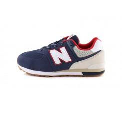 Deportiva con cordón azul/rojo GC574ATP New Balance