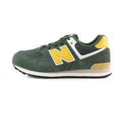 Deportiva con cordón kaki N amarillo GC574MP2 New Balance