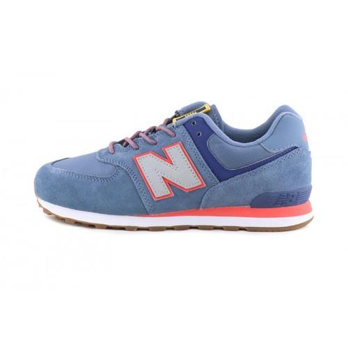 Deportiva con cordón azul jeans GC574PAA New Balance