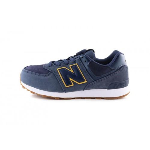 Deportiva con cordón azul GC574PNY New Balance