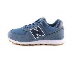 Deportiva con cordón azul jeans GC574PRN New Balance