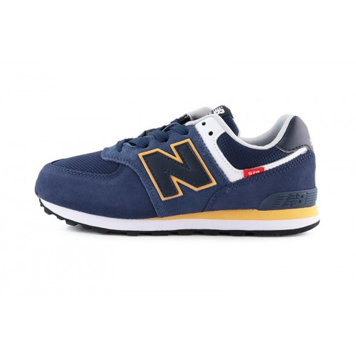 Deportiva con cordón azul/naranja GC574SY2 New Balance