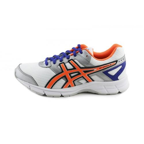 Deportiva running blanco/naranja con cordón GELGALAXY Asics