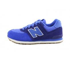 Zapatilla azul/azulón cordón KL574 New Balance