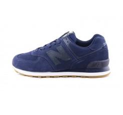 Zapatilla ante azul con cordón ML574 New Balance