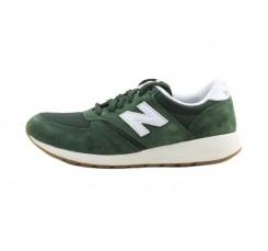 Deportiva ante verde con la N blanca con cordón MRL420 New Balance