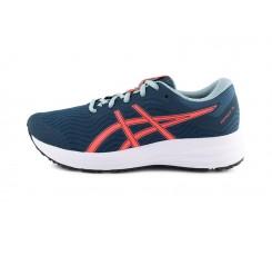 Deportiva con cordón azul y coral Asics PATRIOT™ 12 GS