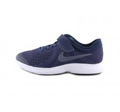 Deportiva azul con velcro y cordón Nike Revolution