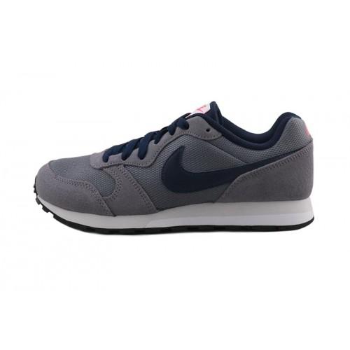 Deportiva gris/azul con cordón Nike Runner