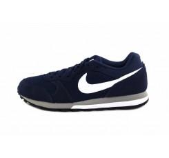 Deportiva azul con símbolo blanco Nike Runner