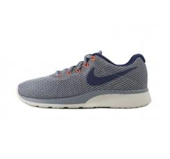 Deportiva gris y azul con cordón Nike Tanjun