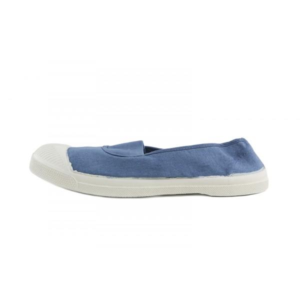 Lona azul jeans elástico Bensimon