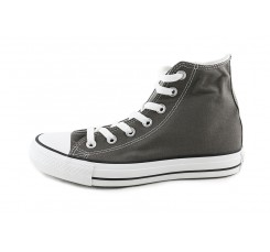 Bota de lona gris oscuro Converse