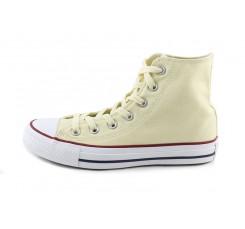 Bota de lona beige Converse