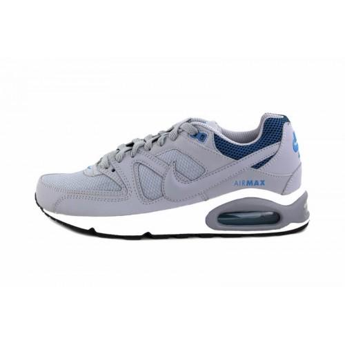 Deportiva gris y azul Nike Airmax
