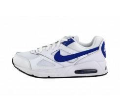 Deportiva blanca con símbolo azul Nike Airmax