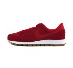 Deportiva roja con símbolo rojo Nike Airpegasus