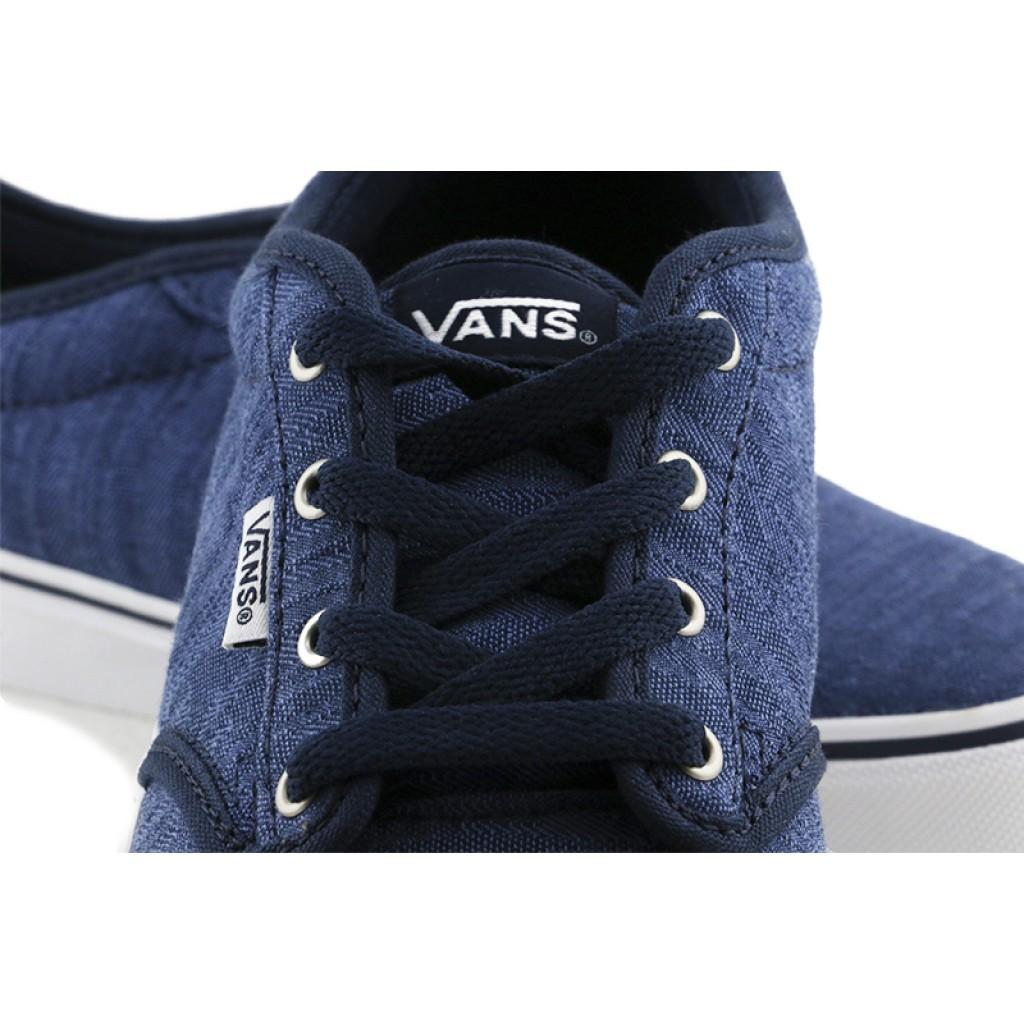 Lona azul con cordón Vans