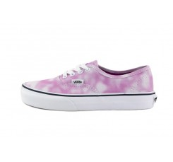 Zapatilla lona desteñida rosa/blanca Vans Authentic