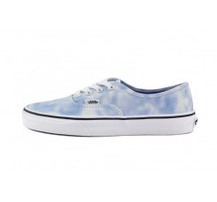 Zapatilla lona desteñida celeste/blanco Vans Authentic