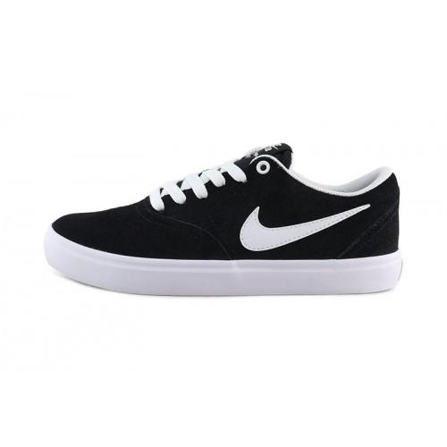Deportiva ante negro con cordón Nike Check