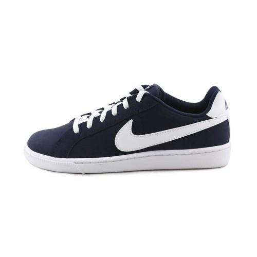 Deportiva nobuk azul con cordón Nike Cour