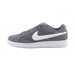 Deportiva ante gris con simbolo blanco con cordón Nike Court royale