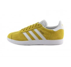 Zapatilla ante amarilla modelo Gazelle con cordón Adidas