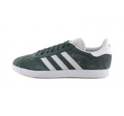 Zapatilla ante verde gris Adidas Gazelle