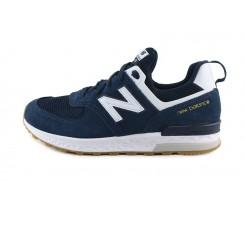 Deportiva azul con la N blanca GS574 New Balance