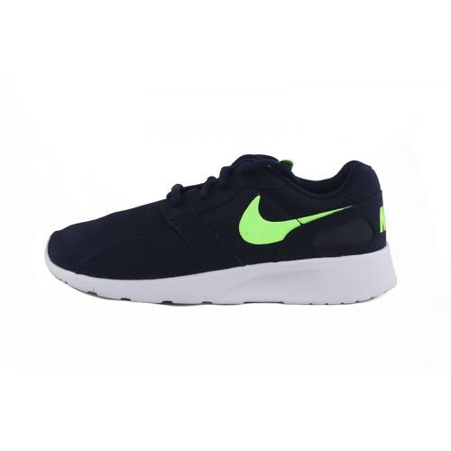 Deportiva azul con símbolo verde Nike Kaishi