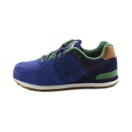 Deportiva azulón oscuro con cordón KL574 New Balance