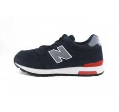 Deportiva azul con N gris ML565NBR New Balance