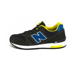 Deportiva gris oscuro con N azulón ML565SNR New balance