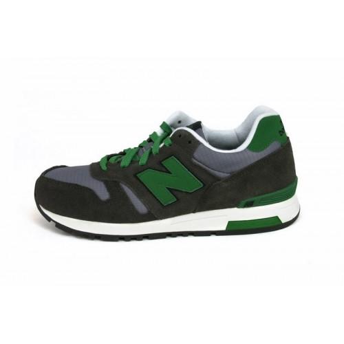 Deportiva verde y gris con N verde con cordón ML565SRC New Balance