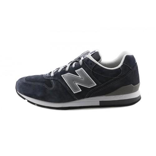 Deportiva serraje azul con N azul MLR996 New Balance