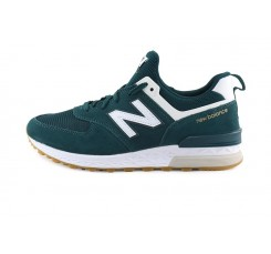 Zapatilla ante verde con cordón ML574CJ New Balance