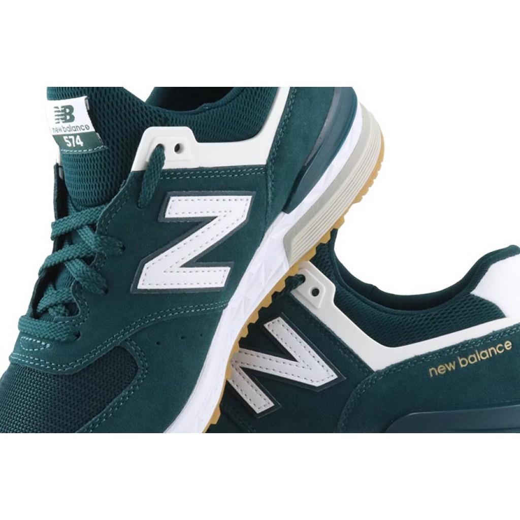Zapatilla ante verde con cordón ML574CJ New Balance